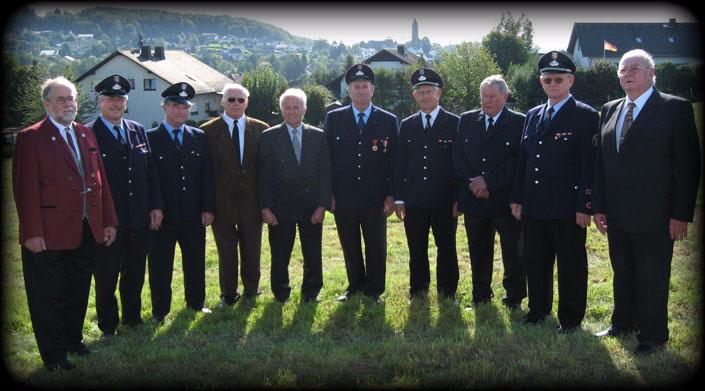Gruppenfoto Alters- und Ehrenabteilung